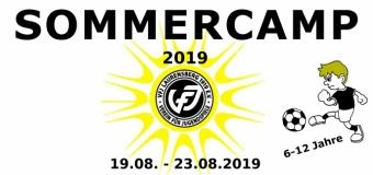 Sommerferien Fußballcamp - 19. bis 23. August