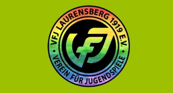 Auch der VfJ zeigt Flagge für Vielfalt