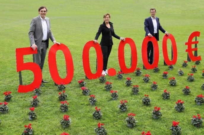 Sparkasse Aachen unterstützt den VfJ